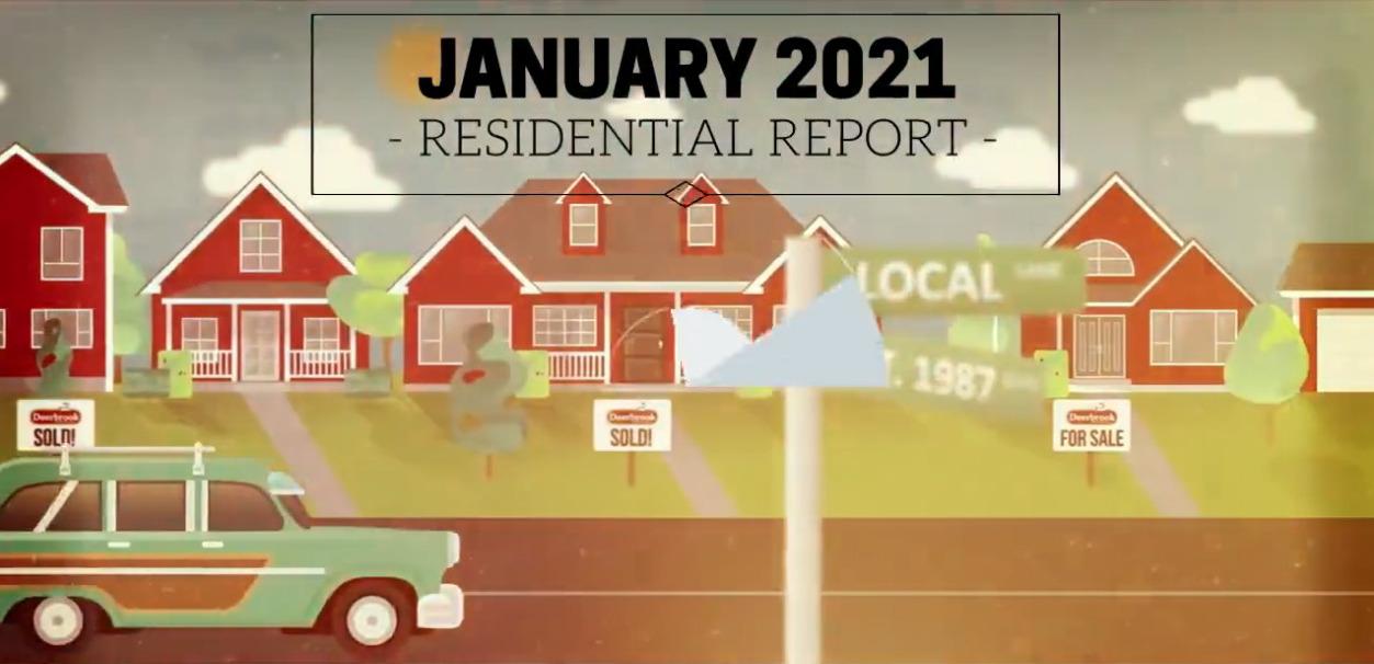 Windsor-Essex Real Estate Market Update - January 2021