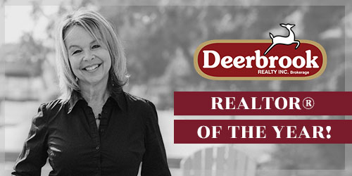 Honoured to be Named 2017 Deerbrook REALTORⓇ of the Year