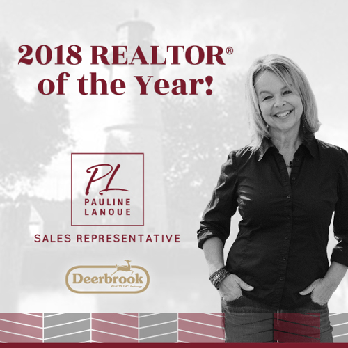 Honoured to be Named 2018 Deerbrook REALTOR® of the Year