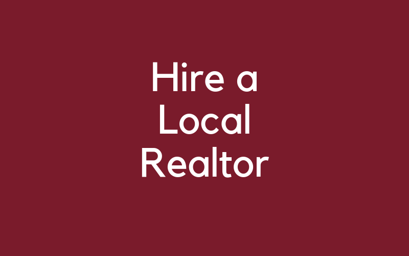 Hire a Local Realtor to Help You With Buying a Home With A Septic Tank