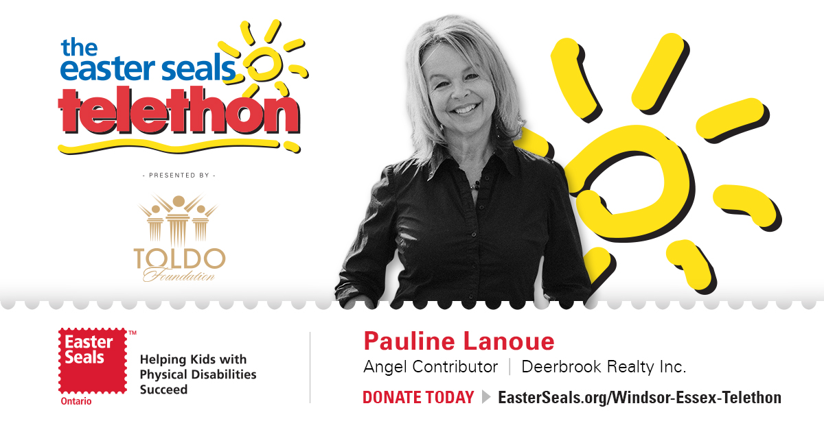 Proud Angel Contributor to the Easter Seals Telethon